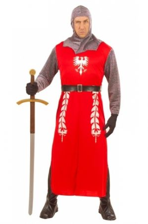 King Arthur Medieval Plus Size  Knight Costume (5696)